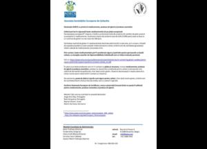 Declarația AOECS cu privire la medicamente, produse de igienă și produse cosmetice